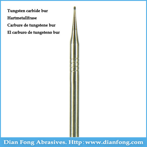 "1/2 HP 3/32"" Shank Round Shaped Dental Tungsten Carbide Burs pictures & photos"
