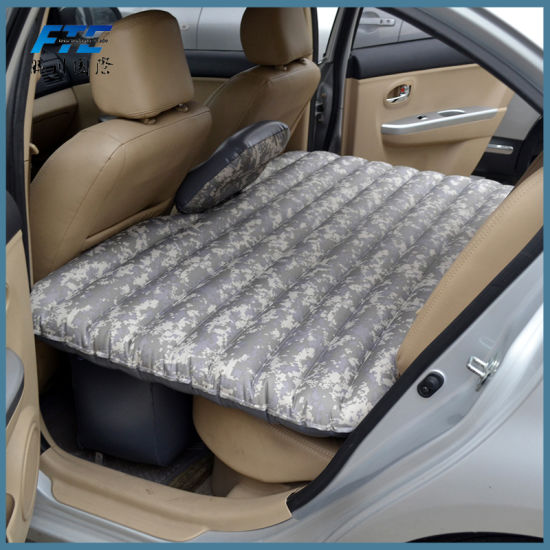 China Hot Inflatable Car Back Seat Air Mattress Car Bed China