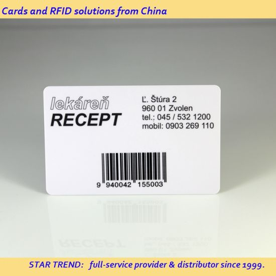 Dicount! ! ! ISO High Quality Cr80 Magnetic Stripe Card with  Encoding/Barcode/Qr Code