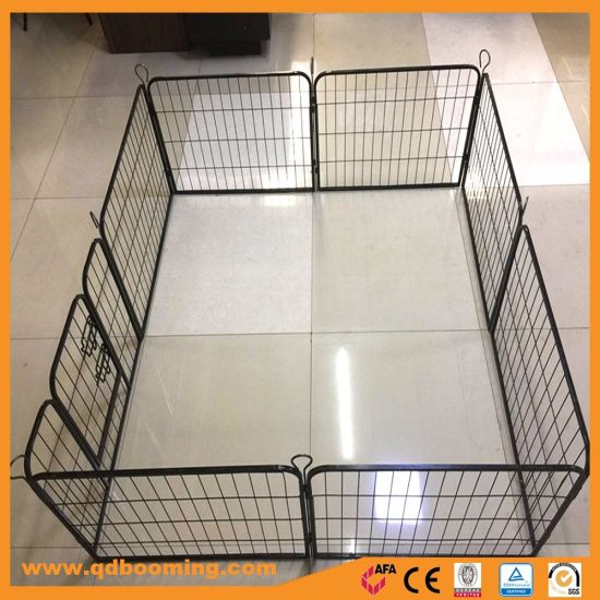 China Durable Powder Coated Wire Mesh Dog Play Pen Cage - China Pet ...