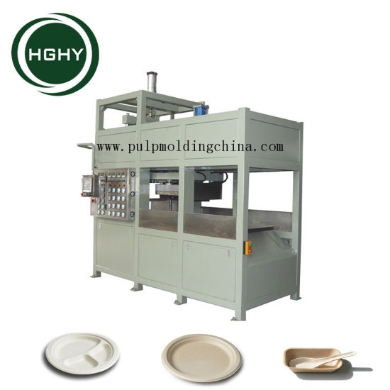 Hghy Biodegradable Disposable Paper Pulp Plate Making Machine  sc 1 st  HGHY PULP MOLDING PACK CO. LTD. & China Hghy Biodegradable Disposable Paper Pulp Plate Making Machine ...