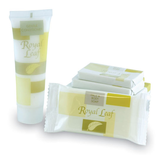 40ml Soft Tube Conditioner and 30g Rectangular Body Soap in Gift Bag