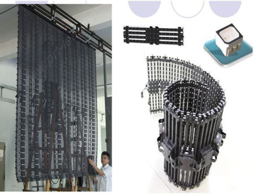 Full Color Soft/Flex LED Curtain P9.375 for Indoor/Outdoor pictures & photos