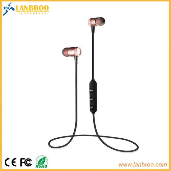4f3741793b8 Best Seller Metal Wireless Sports Bluetooth in-Ear Earphone Super Bass OEM  Supplier