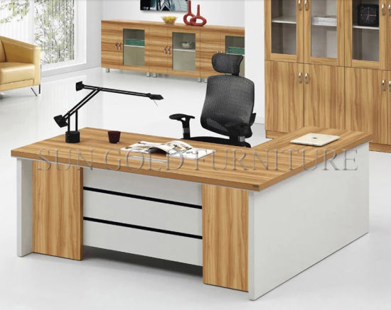 china european style office desk office furniture particle board      rh   sungoldfurniture en made in china com
