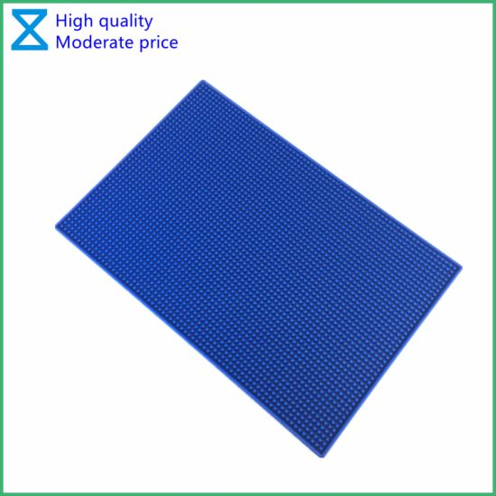 China Professional Supplier Customize High Quality PVC Silicone Bar Mat with RoHS
