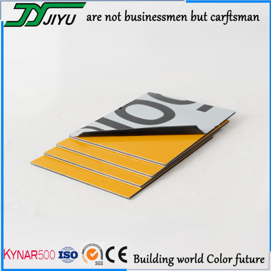 Malleable Decorative Aluminum Plastic Composite Panel for Cladding