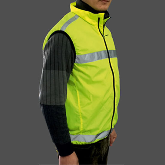 Casual Sports Jacket / Reflective Vest/ Reflective Jacket for Wholesale