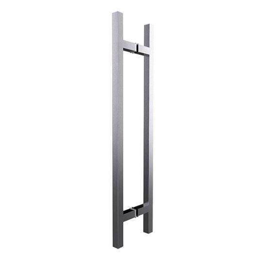 China Stainless Steel Chrome Finish Square Type Shower Glass Door