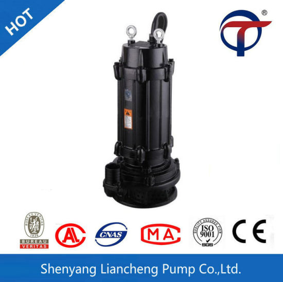 WQX China Portable Small Vertical Inline Submersible Lift Sewage Pump