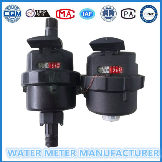 Kent Type Water Meter, Nylon Plastic Volumetric Water Meter Series pictures & photos
