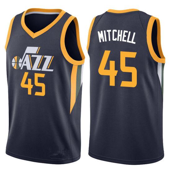check out 15e7e 49b94 Men Women Youth Jazz Jerseys 45 Donovan Mitchell Basketball Jerseys