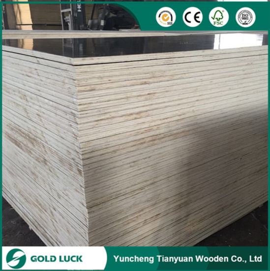 Excellent Grade Waterproof Panels Melamine Faced Marine Plywood 1220X2440mm pictures & photos