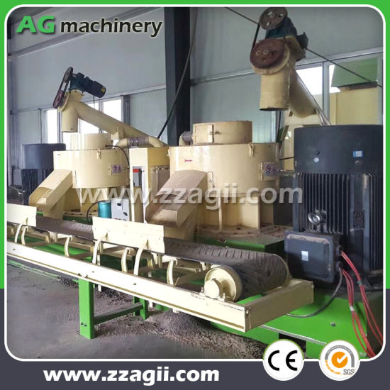 China 1000kg Biomass Wood Wastes Recycling Sawdust Pellet