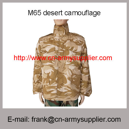Wholesale China Military Desert Camouflage Army Police M65 Combat Jacket