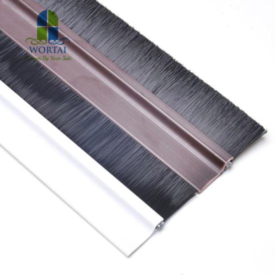 Door Bottom Seal Rubber Draught Excluder Strip Sweep Brush