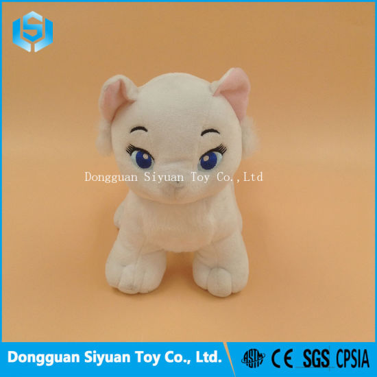 Custom Kids Stuffed Animal White Cat Plush Toys for Baby pictures & photos