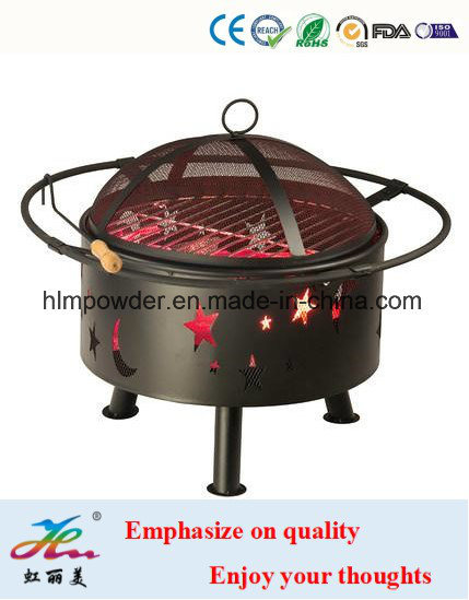 Silicon Based Heat Resistant Powder Coating with RoHS Standard for Fireplace pictures & photos
