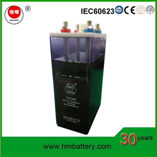 48V 500ah Nickel Iron Batteries for Solar Energy Storage Battery
