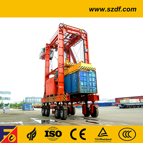 Container Lifting & Stacking Crane / Straddle Carrier pictures & photos