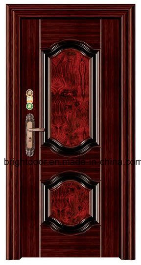 Latest Design Steel Safety Doors Single Door Design pictures & photos
