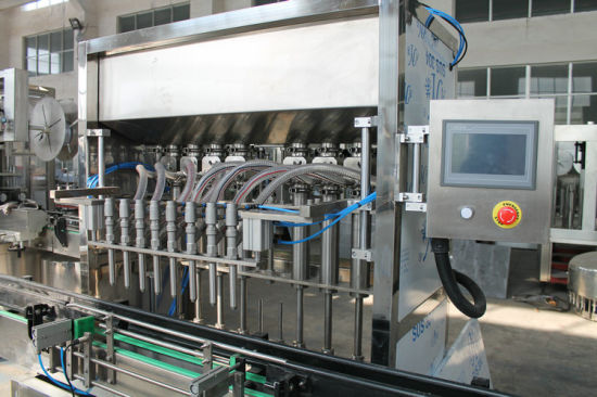10 Heads Automatic Linear Piston Filling Machine for Can pictures & photos