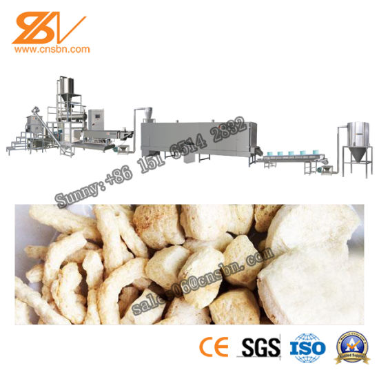 Good Price Automatic with Ce Certification Professional Soybean Protein Food Machine pictures & photos