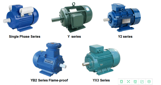 Electric Motor Type Y2 Series Motor /Yb2 Series Electric Motor/Yb3 Series Explosion Proof Electric Motor pictures & photos