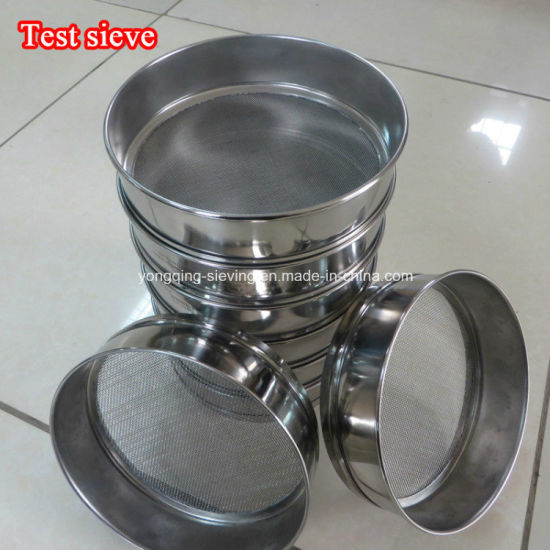 High Qualiry Vibrating Sieve Laboratory Sugar Test Sieve pictures & photos