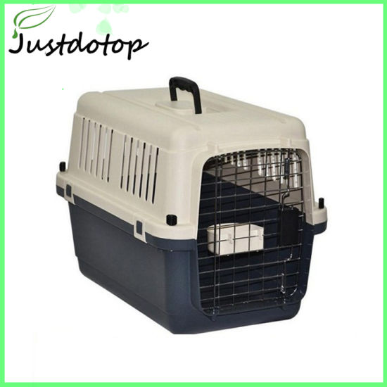 China Customised Plastic Dogs Cages Portable Pet Carrier - China Pet ... ae6a887850e6