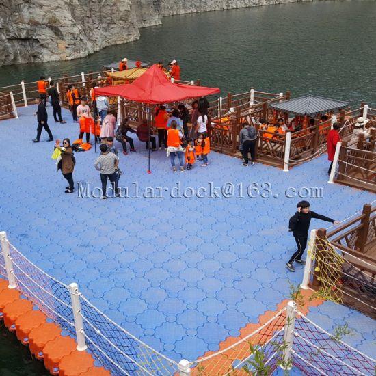 Plastic HDPE Water Floating Platform Factory