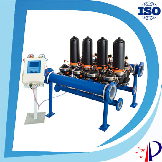 China Exogenous Automatic and Manual Backwash Hydraulic Disc