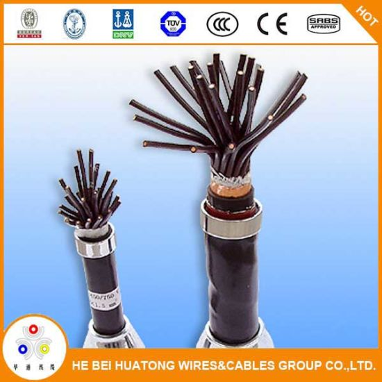 0.6/1kv 1.5mm2 2.5mm2 Flexible Copper Conductor XLPE Insulation PVC Sheath Control Cable pictures & photos