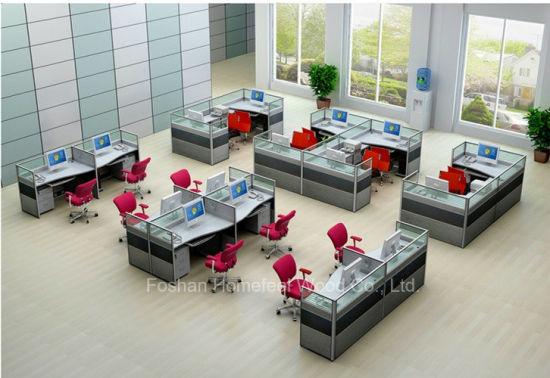 modern office cubicle. Modern Office Cubicle Layout Computer Workstation Divider (HF-YZQ50) N