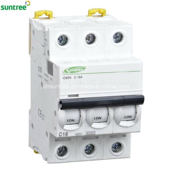 China Miniature Circuit Breaker IC65n 3 Phase IC60 MCB - China ...