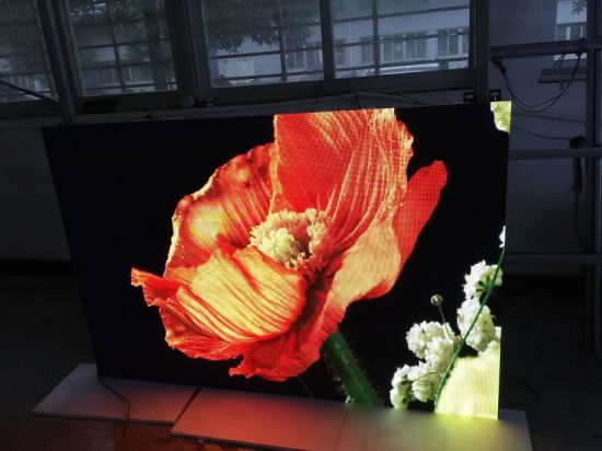 Exhibition Room P3 Indoor Full Color LED Screen (192*96mm) pictures & photos
