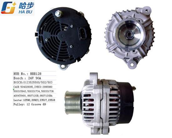 AC Alternator for Ievco OE No. 0123525502, 0123525500 Iveco 2995980 Lester 12590