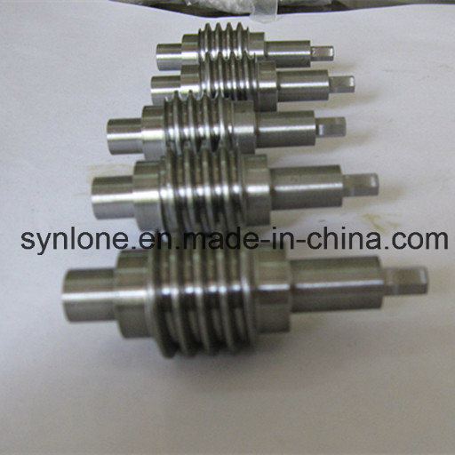 Custom-Made CNC Machining Transmission Worm Shaft pictures & photos