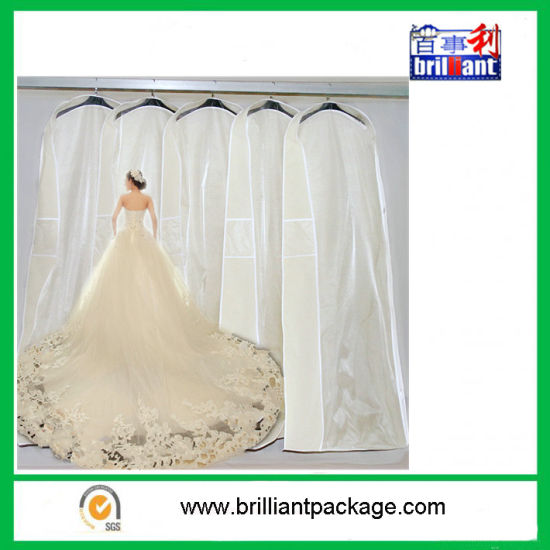 China Wholesale Large Wedding Dress Garment Bags - China Garment ...