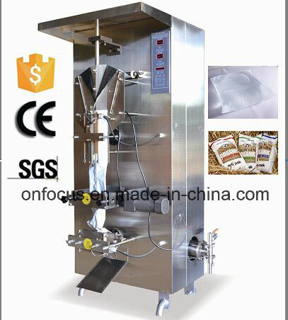 Automatic Film Liquid Pouch Water Filling Packing Machine (CE)