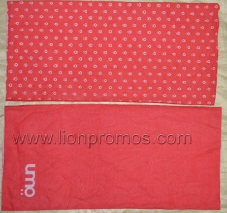 Competitive Price Logo Printed Spandex Cotton Outdoor Bike Headband pictures & photos