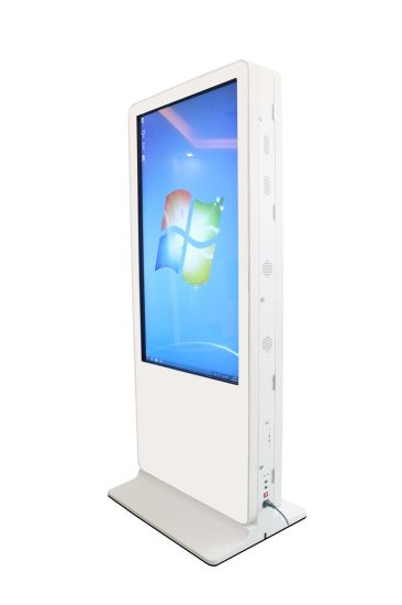 55inch Double Sided Touch Screen Kiosk Built in PC pictures & photos