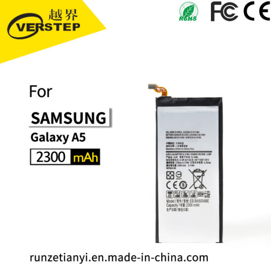 Eb-Ba500abe Replacement for Galaxy A5 Mobile Phone Battery for Galaxy  A5/A500/A5000/A500f