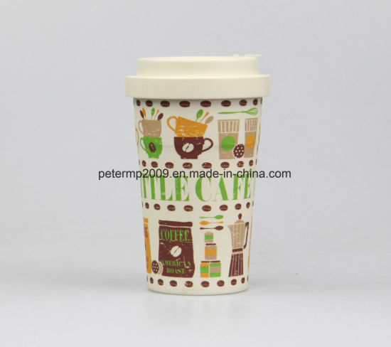 Healthy Bamboo Fiber Material Coffee /Tea/ Drinking Cup pictures & photos