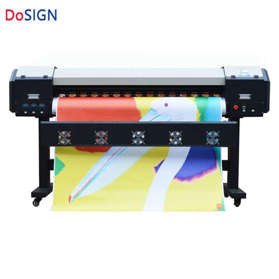 china 1.9m dx8 printhead wide format digital wall sticker printing