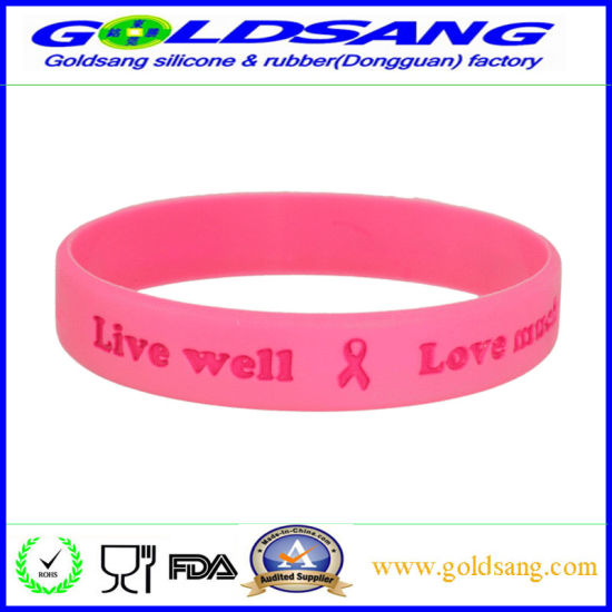 OEM Multicolor Silicone Bracelet for Promotion Gift pictures & photos