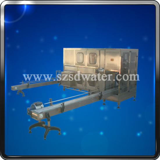 Automatic 3-in-1 Water Packaging Machinery for 5 Gallon Bottle pictures & photos