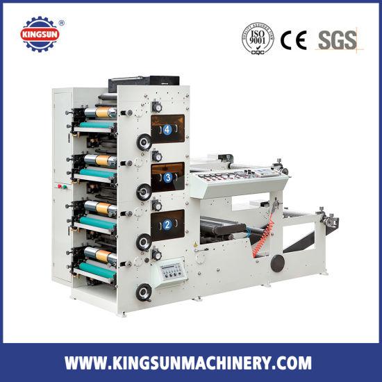 FP850A 4 Colors Wide Flexo Printing Machine