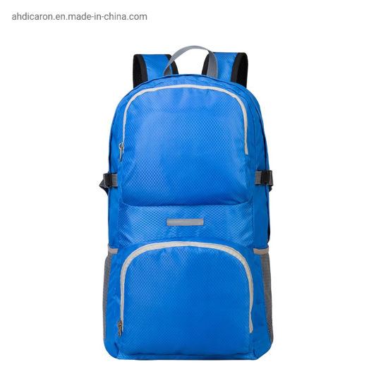 Wholesale Simple Light Weight Foldable Backpacks for Traveling
