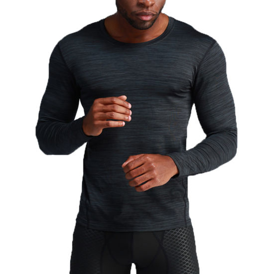 Breathable Gym/Sportswear Fitness Wear Long-Sleeve T-Shirt with Newest Design